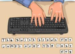 друкувати на клавіатурі швидко