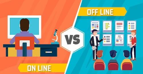 Робота онлайн і офлайн