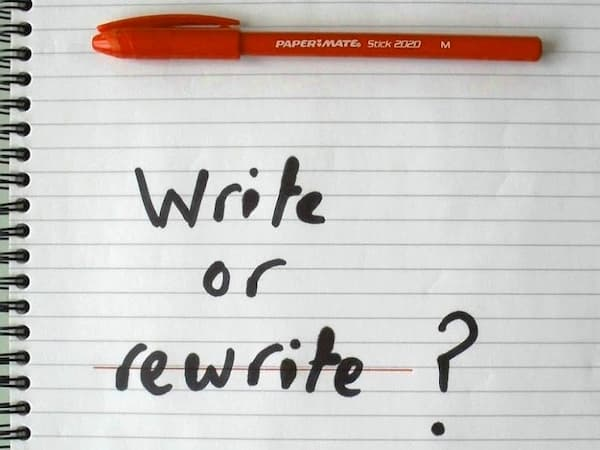 Писати чи переписувати